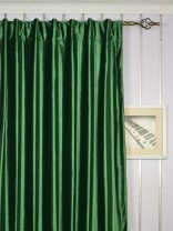 Hotham Green and Blue Plain Ready Made Concealed Tab Top Blackout Velvet Curtains Bangladesh Green Color