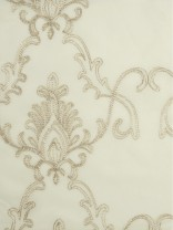 Venus Mid-scale Damask with Metallic Threads Custom Made Sheer