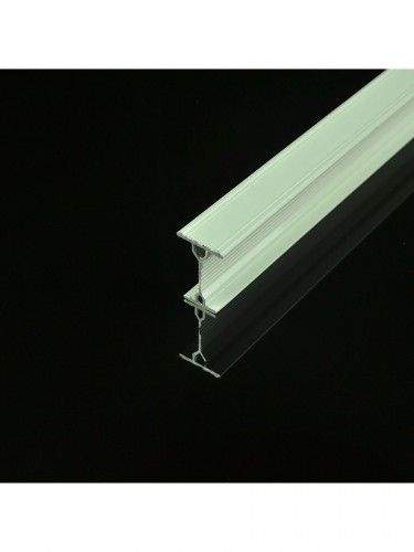 Chr8322 Ivory Bendable Double Curtain Tracks Ceiling Wall