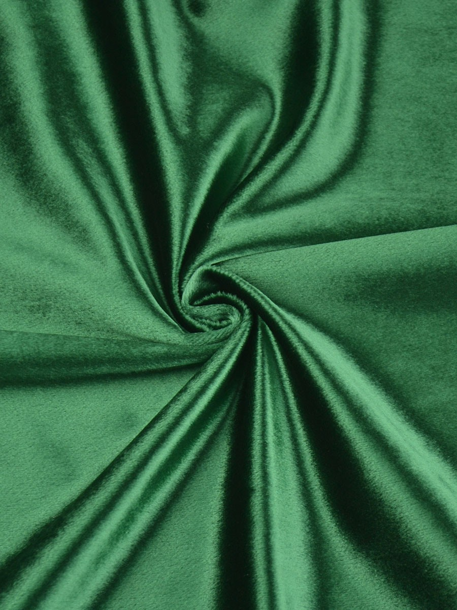 Hotham Green And Blue Plain Ready Made Concealed Tab Top
