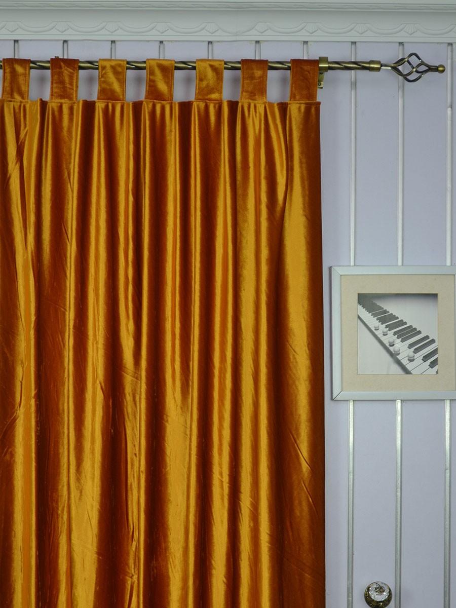 Hotham Brown Plain Custom Made Blackout Velvet Curtains