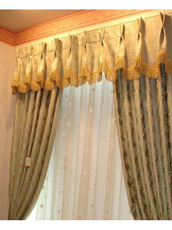 Design Curtain Chidea2109 Pleat Heading Bullion Fringe