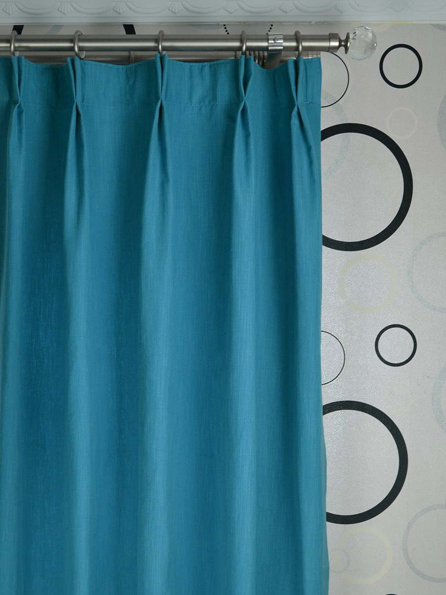 Paroo cotton blend solid custom made curtains curtains for Custom made draperies online