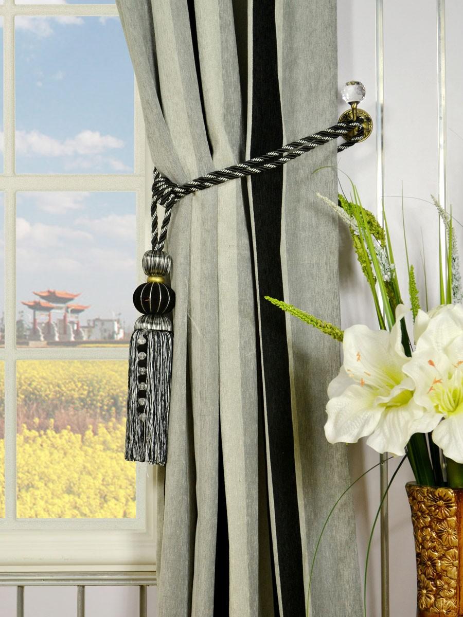 How To Hang Curtain Tassel Tiebacks Curtain Menzilperde Net