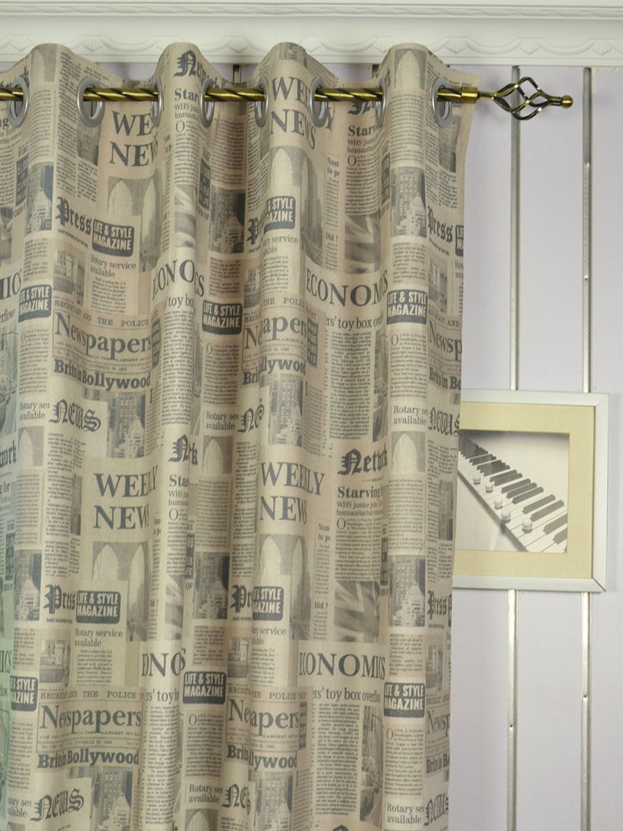 textured pair curtains grommet top solid sage striped linen heavyweight curtain faux mint product