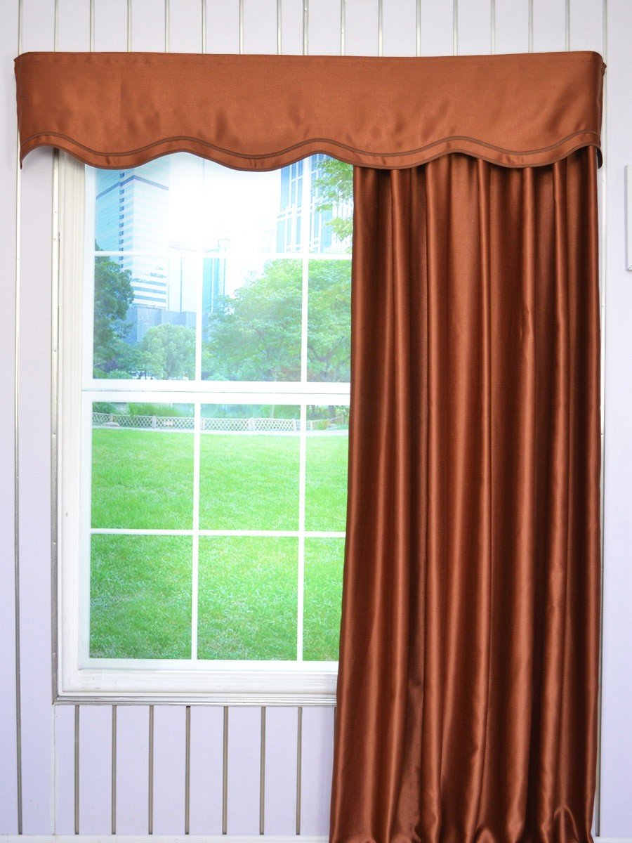 x layered click expand valance to darby window scalloped brown p