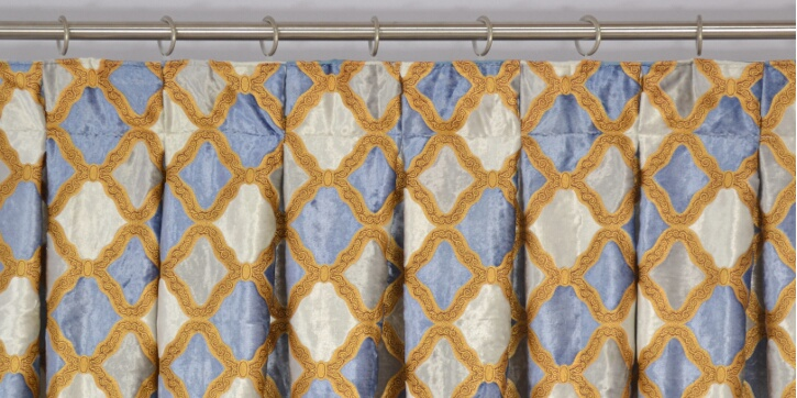 Pleated Curtains For Curtain Box : Curtain Heading Style - Custom Curtains Drapes Draperies Sheers Rods ...