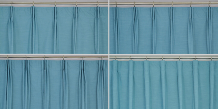 Curtain Heading Style Custom Curtains Drapes Draperies
