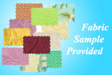 We provide fabric sample for you check the handle