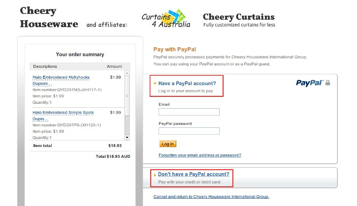 how to retract order on paypal