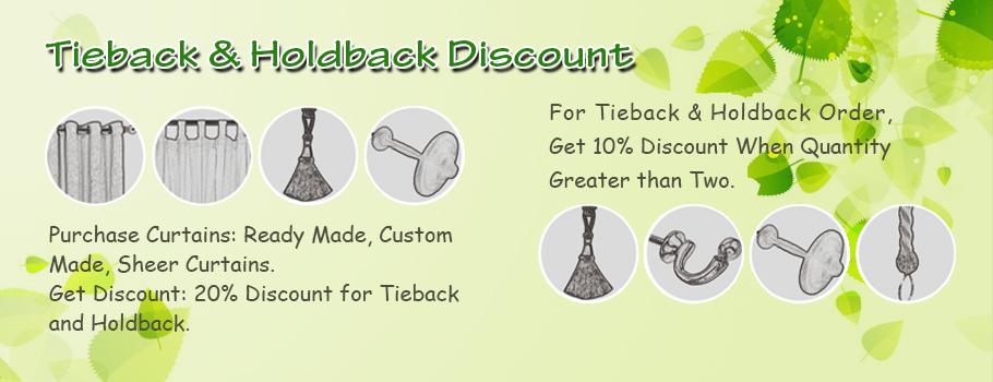 Curtain Tieback and Holdback Discount