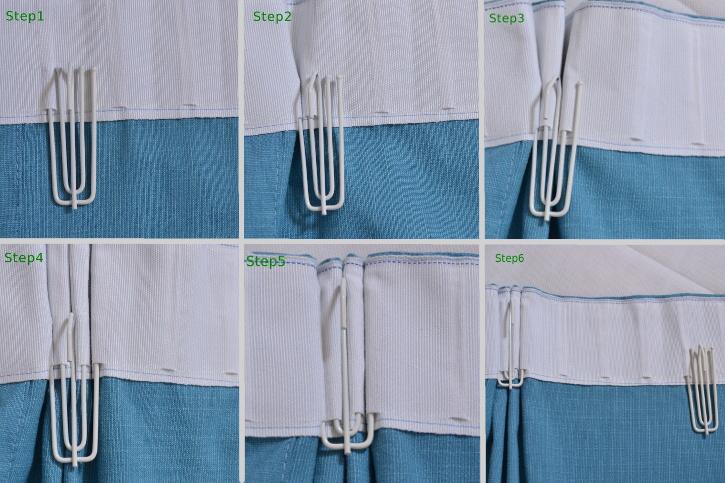 Versatile Pleat Heading Custom Curtains Drapes Draperies